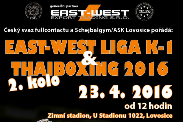Slávek na East-west lize K-1