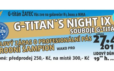 G-titan night 9